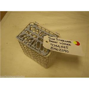 KENMORE DISHWASHER 8562060 9744545 SIDE SILVERWARE BASKET W/ COVER USED PART