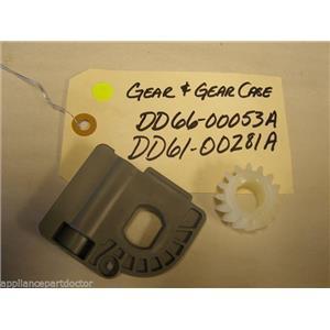 SAMSUNG DISHWASHER DD66-00053A DD61-00281A GEAR & CASE USED PART ASSEMBLY