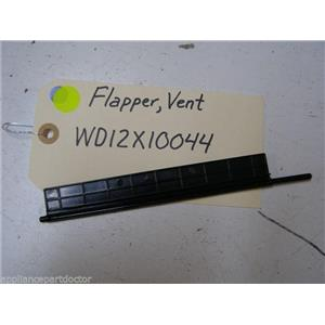 GE DISHWASHER WD12X10044 FLAPPER VENT USED PART ASSEMBLY