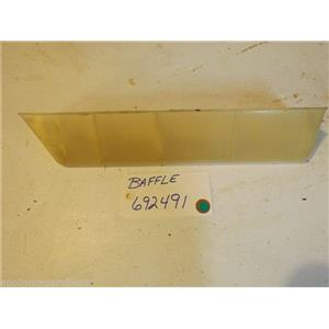 KENMORE GAS  DRYER 692491 Baffle USED PART