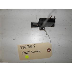 WHIRLPOOL DISHWASHER 3369067 FLOAT SWITCH USED PART ASSEMBLY F/S
