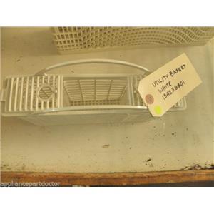FRIGIDIARE DISHWASHER 154238801 WHITE UTILITY BASKET BASKET USED PART ASSEMBLY