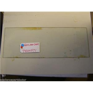 MAYTAG STOVE 74004571  Glass, Oven Door   USED