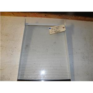 GE REFRIGERATOR WR71X2177 WR32X1069 CANT GLASS COMPLETE SHELF USED PART F/S
