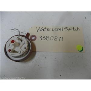 KENMORE DISHWASHER 3380871 WATER LEVEL SWITCH USED PART ASSEMBLY