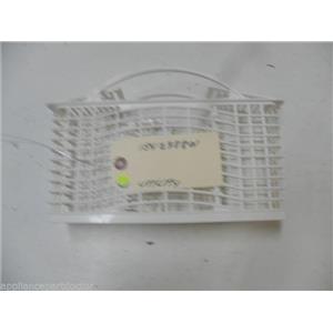 FRIGIDAIRE DISHWASHER 154238801 WHITE UTILITY BASKET USED PART ASSEMBLY