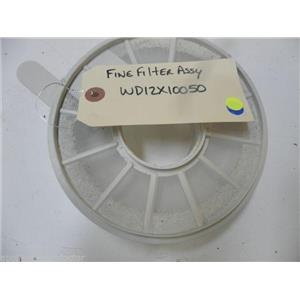 GE DISHWASHER WD12X10050 FINE FILTER USED PART ASSEMBLY