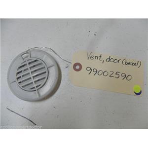 MAYTAG DISHWASHER 99002590 DOOR VENT BEZEL USED PART ASSEMBLY