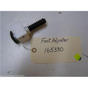 BOSCH DISHWASHER 165330 FOOT ADJUSTER USED PART ASSEMBLY