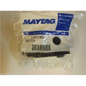 Maytag Washer  22003385  Switch, (4 Button Temp) (wht) NEW IN BOX