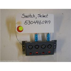 KENMORE DISHWASHER 5304460919 SELECT SWITCH USED PART ASSEMBLY
