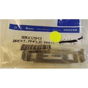 MAYTAG WHIRLPOOL DISHWASHER 99002643 BRKT--MANIFOLD MNT NEW IN BAG