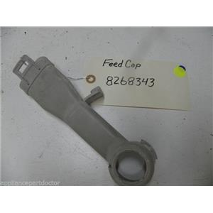 KENMORE DISHWASHER 8268343 FEED CAP USED PART ASSEMBLY