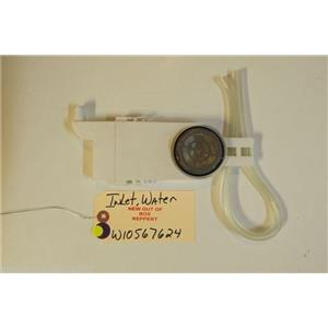 WHIRLPOOL DISHWASHER W10567624  Inlet, Water   NEW W/O BOX