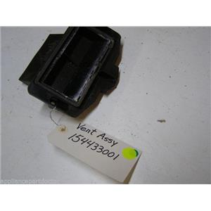 ELECTROLUX DISHWASHER 154433001 VENT USED PART ASSEMBLY
