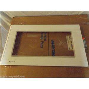 JENN AIR MICROWAVE 58001133 Door, Outer Cover Assy. (wht) NEW IN BOX