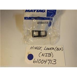 Maytag Refrigerator  61004713  Hinge, Lower (blk)  NEW IN BOX