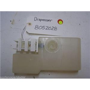 KENMORE DISHWASHER 8052028 DISPENSER USED PART ASSEMBLY