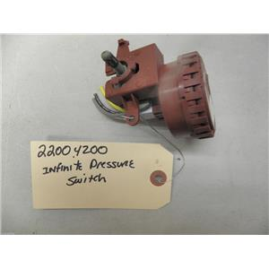 MAYTAG WASHER 22004200 INFINITE PRESSURE SWITCH USED PART ASSEMBLY FREE SHIPPING