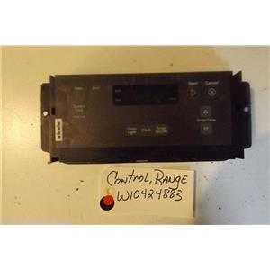 WHIRLPOOL STOVE W10424883 Control, Range USED PART