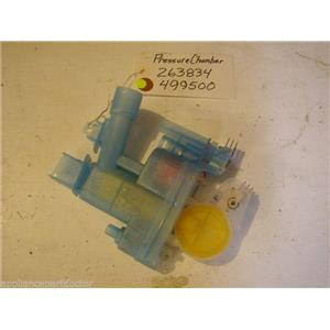 Bosch  dishwasher  Pressure chamber 263834  499500 USED PART