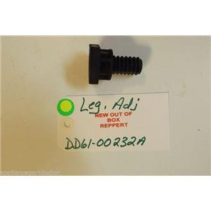 SAMSUNG DISHWASHER DD61-00232A  Leg  adj  NEW W/O BOX