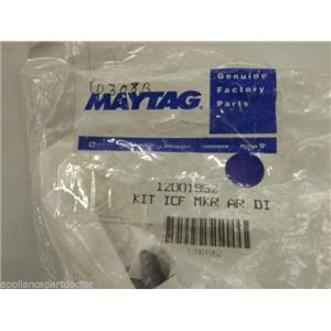 Maytag Crosley Refrigerator  12001952  Kit, Ice Maker Air Tunnel    NEW IN BOX
