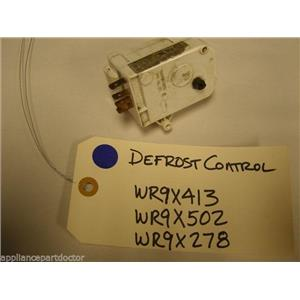 GE REFRIGERATOR WR9X413 WR9X502 WR9X278 DEFROST CONTROL USED PART ASSEMBLY