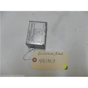 KITCHEN AID DISHWASHER 4161369 ELEC. SUPPLY ENCLOSURE USED PART ASSEMBLY