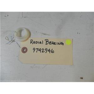 KENMORE DISHWASHER 9742946 RADIAL BEARING USED PART ASSEMBLY
