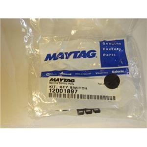 Maytag Whirlpool Washer  12001897  Kit, Key Switch  NEW IN BOX