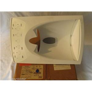 ADMIRAL AMANA REFRIGERATOR 67001514 Facade, Disp 5 Button (wht)   NEW IN BOX