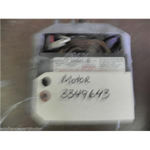 WHIRLPOOL KENMORE SEARS MAYTAG WASHER 3349643 MOTOR USED PART ASSEMBLY F/S