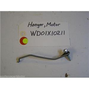 GE DISHWASHER WD01X10211 MOTOR HANGER USED PART ASSEMBLY