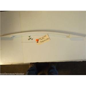 KITCHEN AID STOVE 9780523PW Handle, Door (white) W/SCREWS  USED