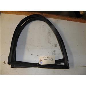 AMANA REFRIGERATOR 67006301 REF DOOR GASKET BLK USED PART ASSEMBLY F/S