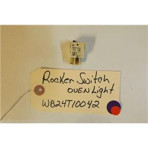 KENMORE  STOVE WB24T10042  Rocker switch oven light  4a- 250vac  8a-125vac  USED