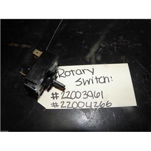 MAYTAG TOP LOAD WASHER 22003961 22004266 4 POSITION ROTARY TEMP SWITCH ASSEMBLY