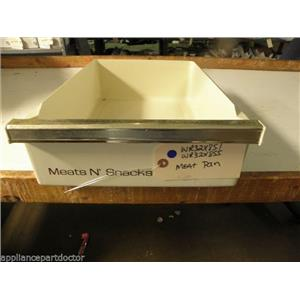 GE REFRIGERATOR WR32X851 WR32X855 MEAT PAN USED PART ASSEMBLY FREE SHIPPING