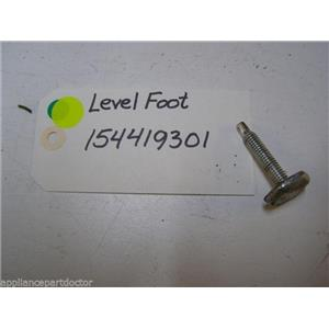 ELECTROLUX DISHWASHER 154419301 LEVEL FOOT USED PART ASSEMBLY