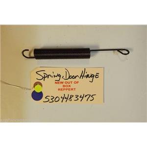 FRIGIDAIRE DISHWASHER 5304483475 Spring,door Hinge  NEW W/O BOX