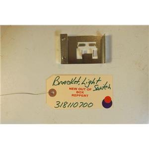 FRIGIDAIRE STOVE 318110700     Bracket-light Switch   NEW W/O BOX