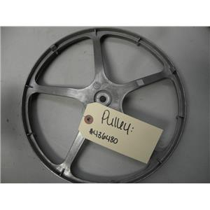 """BOSCH FRONT LOAD WASHER 436480 PULLEY USED PART ASSEMBLY """"FREE SHIPPING"""""""