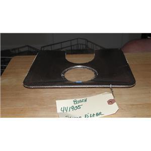 BOSCH DISHWASHER 441905 SUMP FILTER