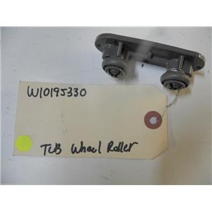 KITCHEN AID DISHWASHER W10195330 TUB WHEEL ROLLER USED PART ASSEMBLY