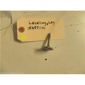 FRIGIDIARE DISHWASHER 154571101 LEVELING LEG USED PART ASSEMBLY