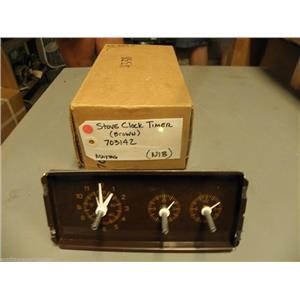 Maytag Stove 703142 Clock Timer (brown) NEW IN BOX