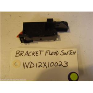 GE Dishwasher WD12X10023  WD12X376  Bracket Flood Switch used part