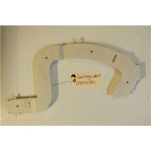 ELECTROLUX DISHWASHER  154755801 Duct Assembly,vent USED