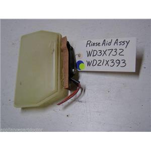 Ge Dishwasher WD3X732 Body Rinse Aid WD21X393 Bimetal used part assembly
